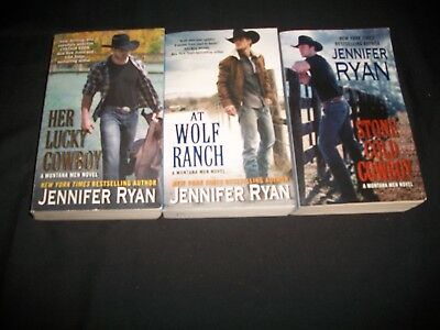 Lot of 3 Books by Jennifer Ryan, Montana Men Novels