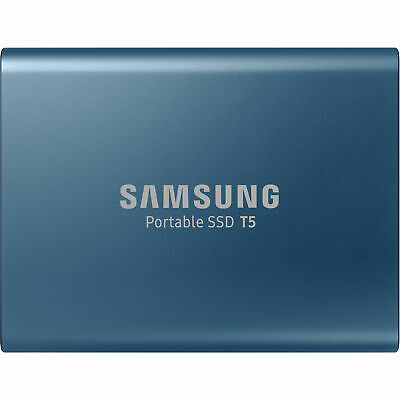 Samsung 540MB/s USB-C 500GB Portable SSD T5 Laptop & PC Solid State Drive BL
