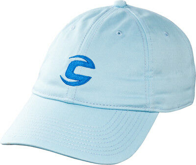 Cannondale Unisex C-Logo Baseball Hat, Light Blue One Size NEW