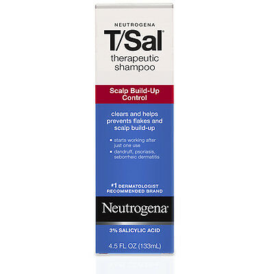 Neutrogena T/Sal Therapeutic Shampoo 4.5oz