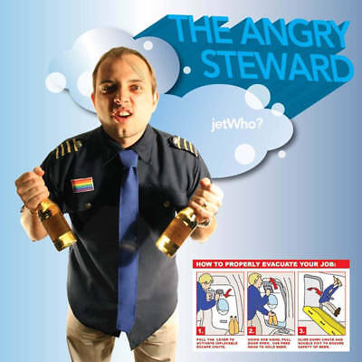 The Angry Steward COSTUME Halloween Adult Deluxe Unisex Jet Who One Size