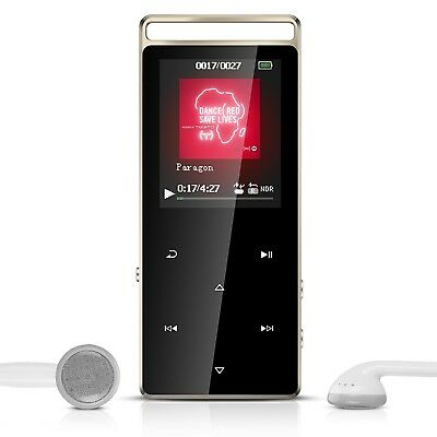 AGPTEK A01 8GB Sport MP3 Player Lossless Sound Metal Music Player with Touch ...
