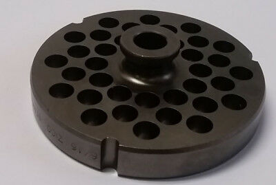 """#32 German Made 3/8"""" Hole D2 Tool Steel Grinder Plate W Hub15Mm Thick 3.90"""" Dia"""