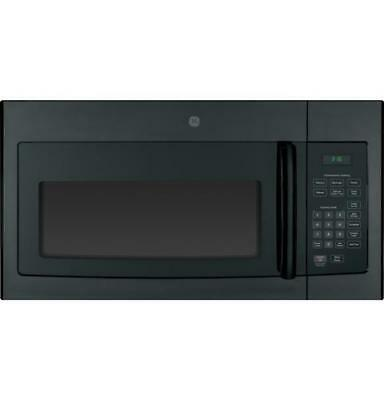 Ge 1.6 Cu. Ft. 1000w Over the Range Microwave Oven in Black 40669