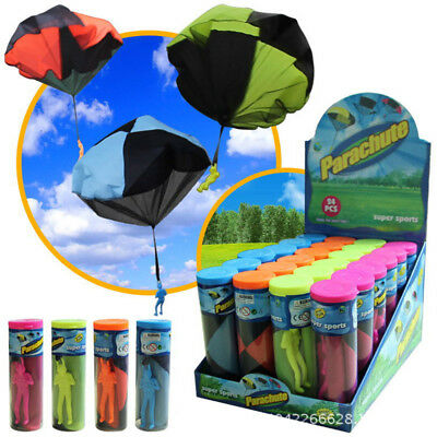Kid Children Tangle Toy Throwing Parachute Kite Outdoor Play Game Radom Color