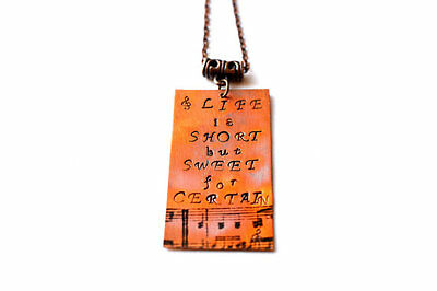 Dave Matthews Band, Dave Matthews Lyrics, life is short but sweet for certain