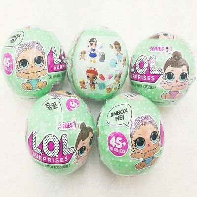 LOL Surprise Dolls Fizz Ball Dress Up Toys Charm Collectible Series Funny Eggs