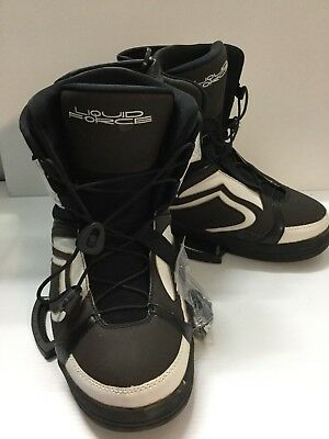 Liquid Force Alpha Closed Toe Wakeboard Boots - Size 11-12