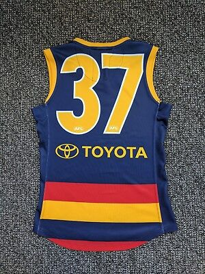 Ian Callinan 2011 Match Worn Adelaide Crows Guernsey Jumper Player Issue Reebok