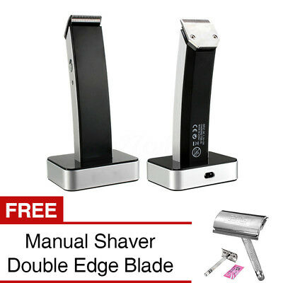 Cordless Men's Electric Rechargeable Hair Clipper Trimmer Cutter Cutting Kit