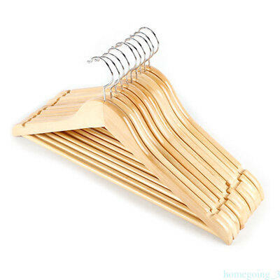 Solid Wood Pants Wooden Package Wooden Children Shop Clothes Solid Hanger