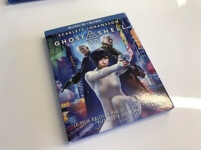 Blu-ray GHOST IN THE SHELL - Sans le disque 3D
