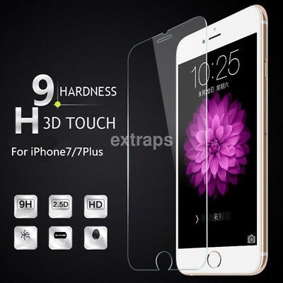 For iPhone 8 8 Plus 9H Front and Back Tempered Glass Film Screen Protectors New