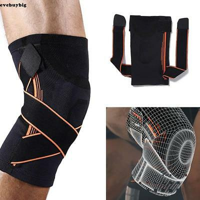 1pcs 3D Knee Brace Breathable Sleeve Protection Support Running Jogging Sports R