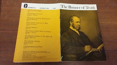 The Banner of Truth magazine, Issue 076 January 1970