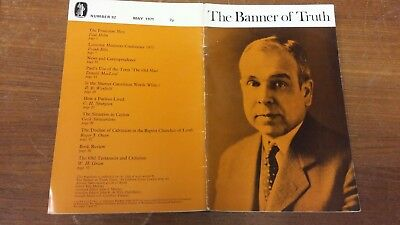 The Banner of Truth magazine, Issue 092 May 1971