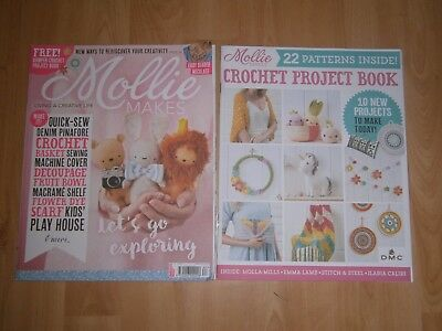 Mollie Makes Craft Magazine - Issue 83 Sept 2017  Including Crochet Project Book