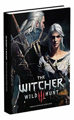 The Witcher 3: Wild Hunt Complete Edition collectors strategy guide SEALED dent