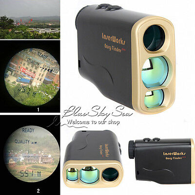 1000Yd Laser Range Finder Golf Hunting Sports Meter Speed Measurer Waterpoof 6X