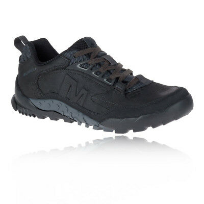 Merrell Mens Sports Mountain Annex Trax Low Shoes Breathable Black Trainers