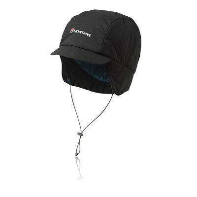 Montane Unisex Featherlite Mountain Cap Hat Headwear Black