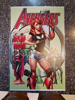 Avengers #8 J SCott Campbell Iron Man variant nm/mint.