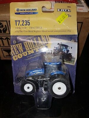 New Holland T7.235 Tractor Scale Model 1/64. Toy. New in package.