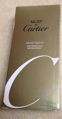 """Must de Cartier"" von Cartier, Eau de Toilette Spray, 100 ml"