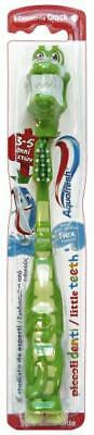 AQUAFRESH Brosse à dents petites dents 3-5 ans - Brosses à dents