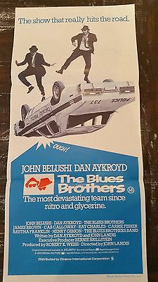 THE BLUES BROTHERS Original Daybill Movie Poster