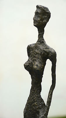 Beautiful Quality Pure Bronze Sculpture Statue Substantial Abstract Modern Art