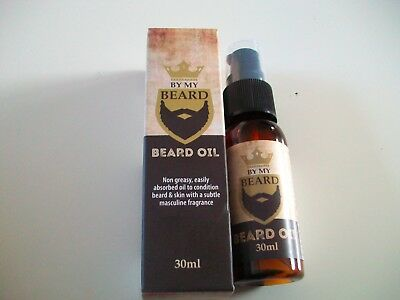 By My Beard Oil Non Greasy With Masculine Fragrance 30Ml Uk Seller £1.25