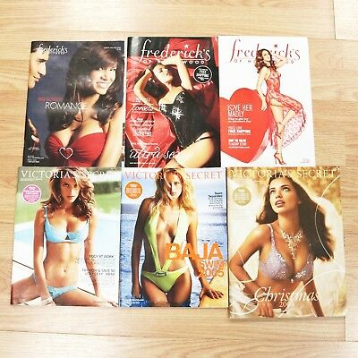 6 Victoria's Secret & Frederick's of Hollywood Lingerie Catalogs, Tyra Banks
