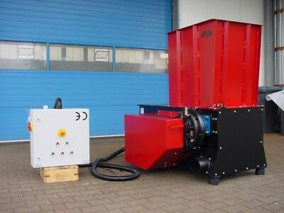 Roessler Mhr 630-1 18.5Kw Single Shaft Shredder, Hogger, Chipper. 0.6 Cubic Mtr