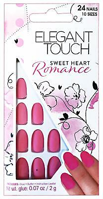 ELEGANT TOUCH Nails adhesive fake romance sweet heart