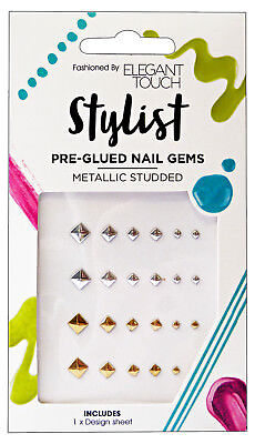 ELEGANT TOUCH Nails nail art gems pre-collate metals