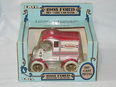 1905 Ford Delivery Car True Value #6 In The Series 1/24th Scale Made In 1987