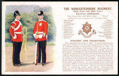 THE WORCESTERSHIRE REGIMENT History & Traditions. 2nd edition + new honour. 1909