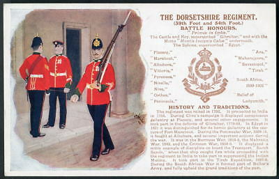 THE DORSETSHIRE REGIMENT. History & Traditions. Gale&Polden. J.McNEILL art 1909