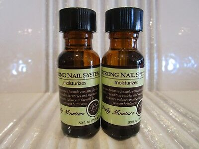 Perfect Formula Lot Of 2 Strong Nail System Daily Moisture .50 Oz Stock # As414S