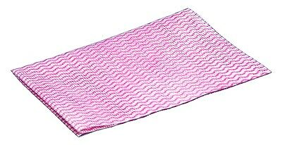 CLEENOL Disposable Wiping Cloths -  Red - Pack of 50