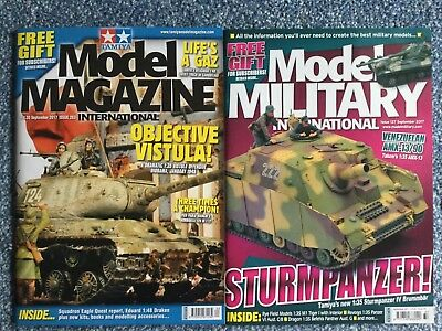 Tamiya Model Magazine + Model Military - September 17