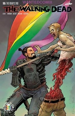 Walking Dead #168 Cover B Gay Pride Month Variant Image Comic Book New 1