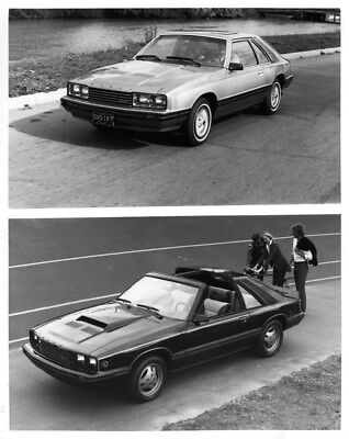 1981 Mercury Capri GS & Capri Black Magic ORIGINAL Factory Photo oub7628