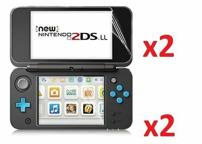 Hellfire Trading 4x LCD Screen Protector Cover Guard for Nintendo 2DS XL