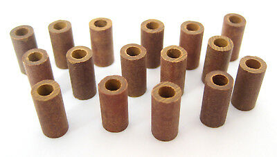 "Phenolic Non-Threaded Spacers/Standoffs, #6 x 1/2"" Long: 16/Lot: HH Smith 8159"