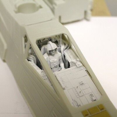 Cockpit for 1/18 Scale Star Wars Hasbro Hero / Rebels X-Wing with Pilot