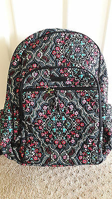 NWT new VERA BRADLEY Disney Mickey and Minnie Mouse Medallion laptop Backpack