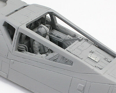 1/24 Scale Cockpit with Pilot and Clear Parts for Studio Scale Star Wars X-Wing