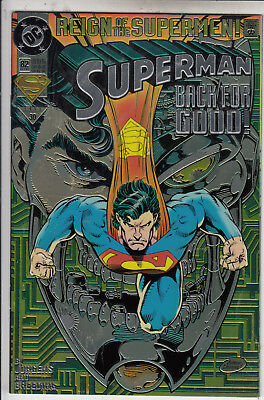 Superman   V2 # 82  Vfn / Vfn- Foil Cover  1993  D.c Comics American Comic A